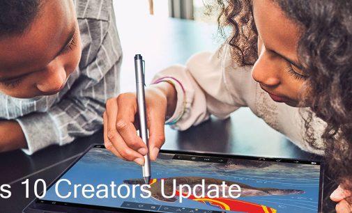 Bản lên đời Windows 10 Creators Update đã có mặt