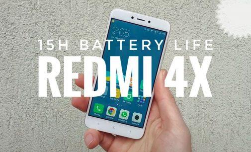 VIDEO UNBOX SMARTPHONE: Xiaomi Redmi 4x