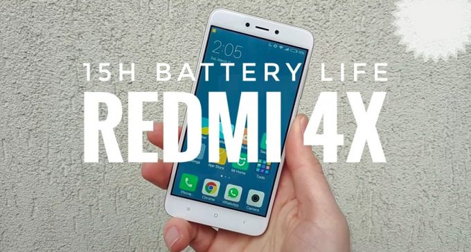 Smartphone Xiaomi Redmi 4X có mặt tại Việt Nam