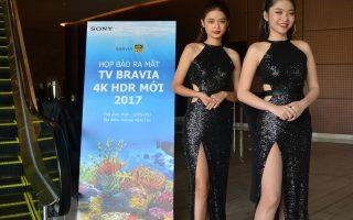 Sony Việt Nam ra mắt thế hệ TV Bravia 4K HDR năm 2017