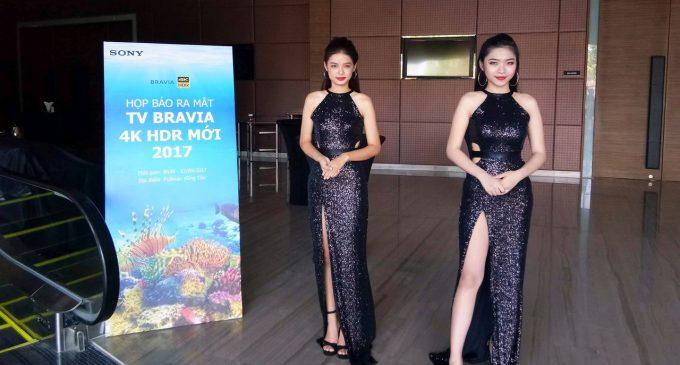 Sony Việt Nam ra mắt thế hệ TV Bravia 4K HDR 2017