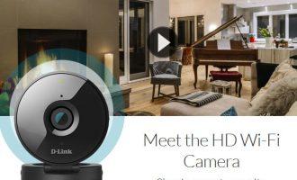 D-Link HD Wi-Fi Camera DCS-936L: camera an ninh nhỏ xinh mà rõ tinh