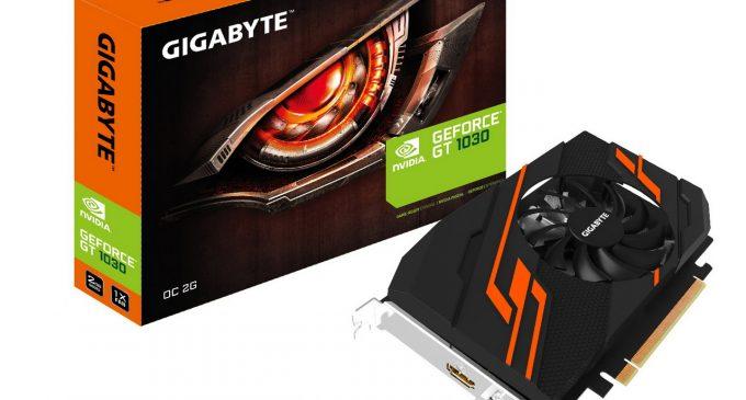 Dòng card đồ họa Gigabyte NVIDIA GeForce GT 1030: nền tảng Pascal cho phân khúc tầm trung và phổ thông
