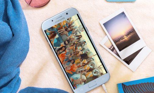 Galaxy A5 (2017) phiên bản xanh pastel đã có bán tại Việt Nam