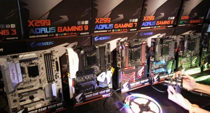 Gigabyte ra mắt motherboard X299 ở Việt Nam