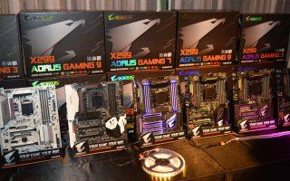 ALBUM: Gigabyte ra mắt thị trường Việt Nam dòng motherboard X299 cho CPU Intel Core X-series