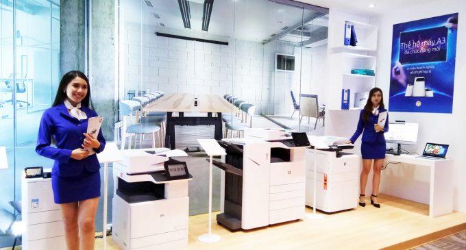 HP Việt Nam ra mắt thế hệ máy in A3 đa chức năng mới