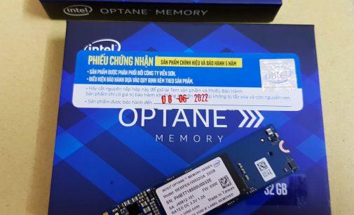 Cầm trên tay bộ nhớ Intel Optane cho máy tính hiệu năng thế hệ mới