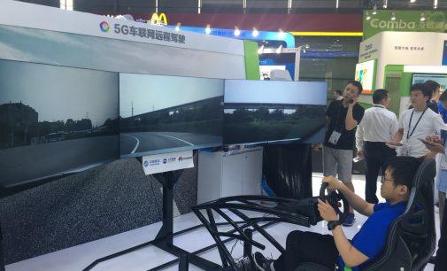 Huawei trình diễn lái xe từ xa dựa trên công nghệ 5G