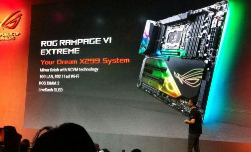 Asus ra mắt hàng loạt bo mạch chủ X299 mới tại COMPUTEX 2017