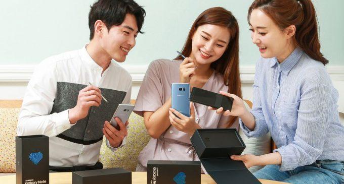 Samsung bán Galaxy Note 7 tân trang với tên mới Galaxy Note Fan Edition