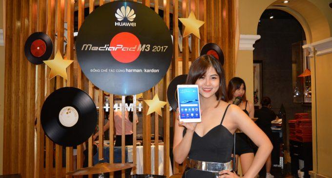Bộ đôi máy tính bảng Huawei MediaPad M3 2017 và Huawei MediaPad T3-8 có mặt ở Việt Nam