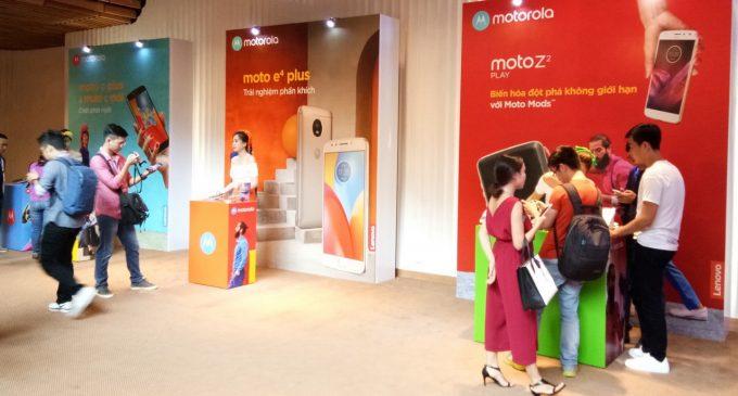 Motorola ra mắt một loạt smartphone mới ở Việt Nam
