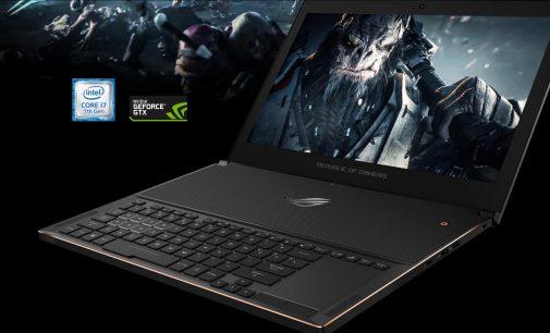 ASUS ROG Zephyrus – gaming laptop mỏng nhất thế giới