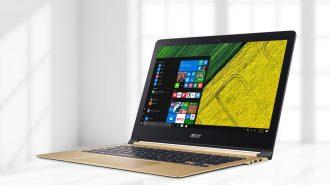 VIDEO: Laptop Acer Swift 13 inch cực mỏng