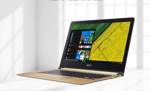 VIDEO: Laptop Acer Swift 13 inch cực mỏng