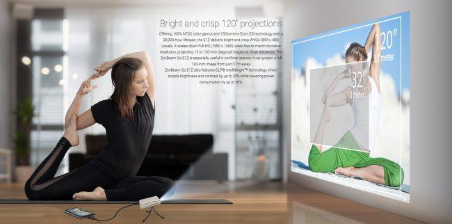 ZenBeam Go E1Z, máy chiếu bỏ túi cực chất của ASUS