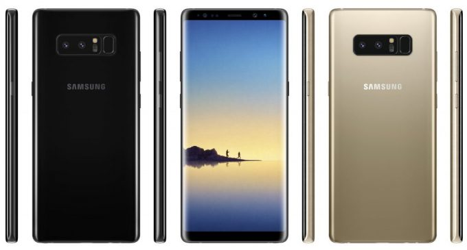 Samsung Galaxy Note8 dưới mắt người châu Âu