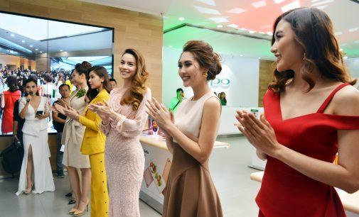 VIDEO: Ca sĩ Hồ Ngọc Hà và những người mẫu Oppo Việt Nam