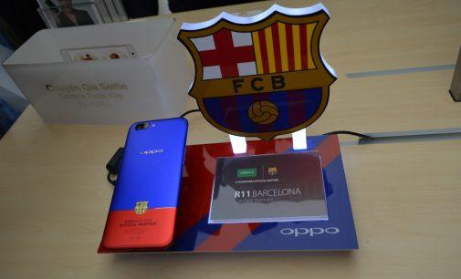 Trên tay Oppo R11 phiên bản FC Barcelona Edition cao cấp đầu tiên tại Việt Nam