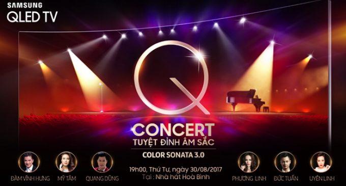 """Biễu diễn ca nhạc """"Q Concert – tuyệt đỉnh âm sắc"""" của Samsung Vina"""