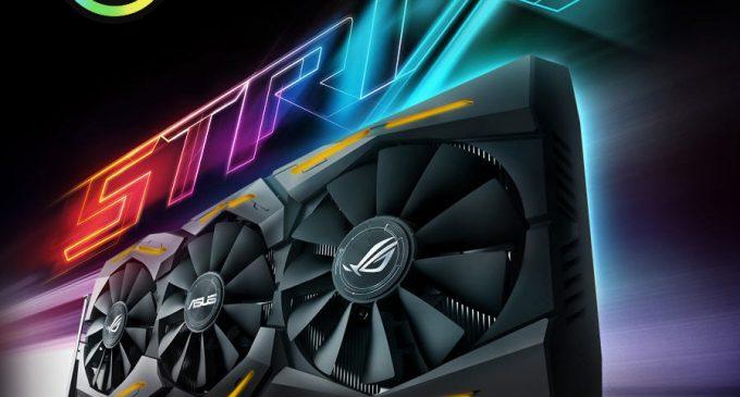 ASUS ROG Strix RX Vega64, card đồ họa đơn nhân mạnh nhất của GPU AMD từ ASUS