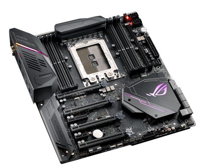 ASUS ra mắt hai dòng bo mạch chủ cho AMD Ryzen Threadripper