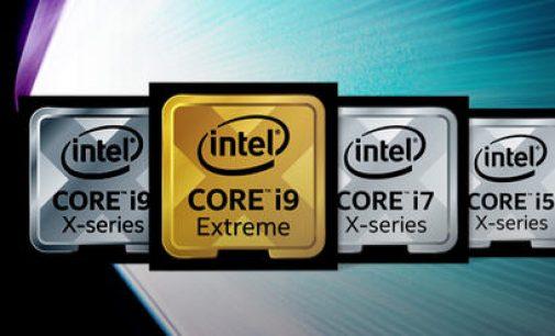 Intel công bố đặc tả gia đình CPU Intel Core X-series có 12 tới 18 nhân
