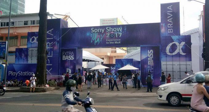Sony Show 2017 tại TP.HCM và ra mắt smartphone Sony Xperia XZ1 ở Việt Nam