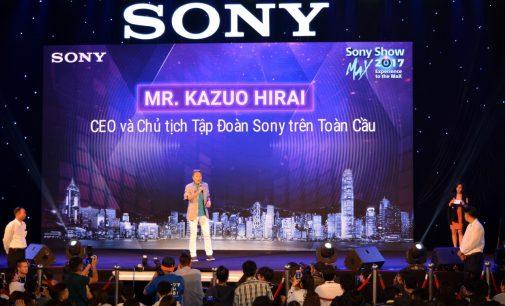 VIDEO: Ông Kazuo Hirai, CEO Tập đoàn Sony, tại Sony Show 2017 TP.HCM