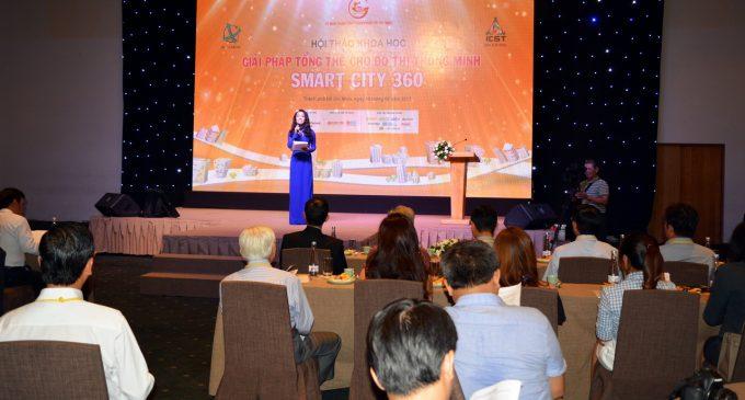 """Hội thảo khoa học """"Giải pháp tổng thể cho đô thị thông minh"""" – Smart City 360 độ"""