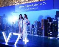 Ra mắt smartphone Vivo V7+