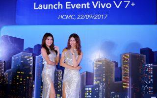 Ra mắt smartphone Vivo V7+ tại Việt Nam