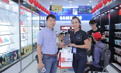 Samsung Galaxy Note8 tạo kỷ lục mới về doanh số dòng sản phẩm cao cấp trong ngày mở bán ở Việt Nam