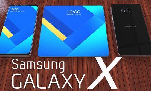 """Điện thoại có thể gập Samsung """"Galaxy X"""" đã được chứng nhận ở Hàn Quốc"""