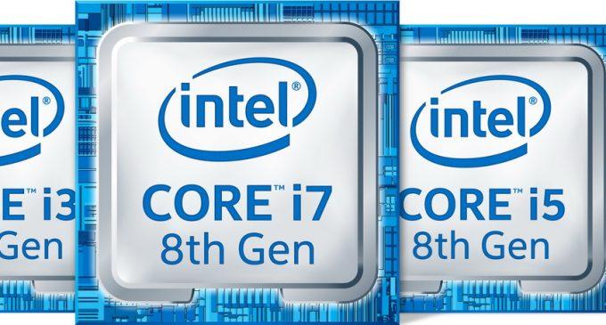 CPU Intel Core Gen 8 cho PC desktop đã ra đời