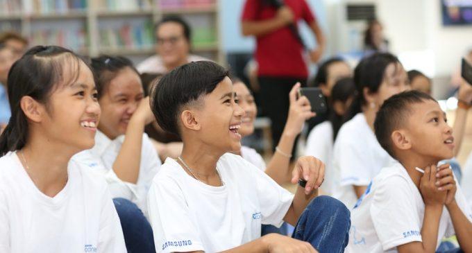 Samsung Connect kết nối hơn 10.000 lời động viên tiếp sức cho ước mơ của trẻ em Việt