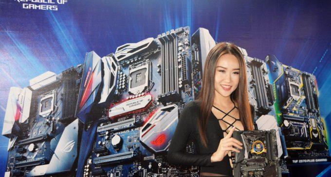Đây là motherboard Asus Z370 cho chíp Intel Core Gen 8