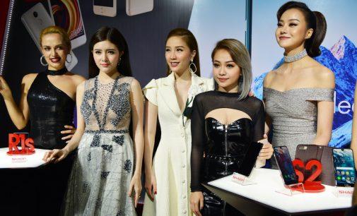 Sharp ra mắt 4 smartphone mới tại thị trường Việt Nam