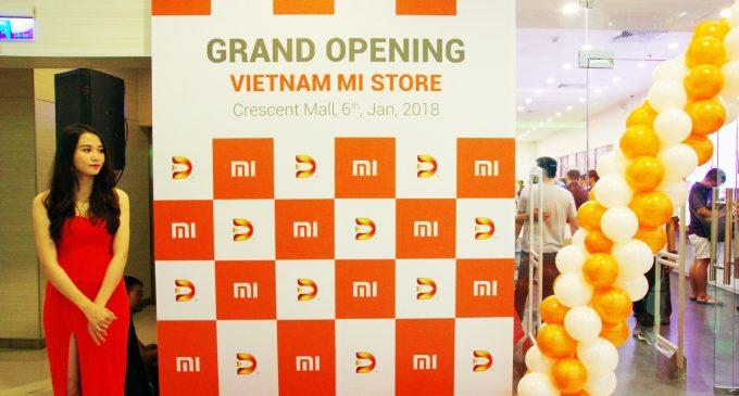 Xiaomi khai trương cửa hàng Mi Store ủy quyền đầu tiên tại Việt Nam