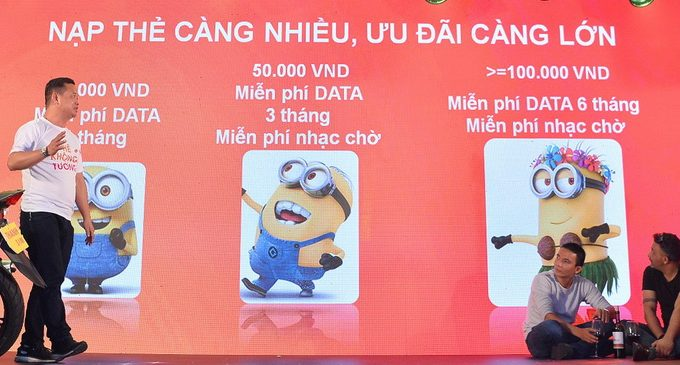 """Vietnamobile ra mắt sản phẩm """"Thánh SIM"""" miễn phí dữ liệu dành cho người dùng di động"""