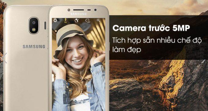 Samsung Vina bắt đầu bán Galaxy J2 Pro (2018) thiết kế ánh kim màn hình Super AMOLED