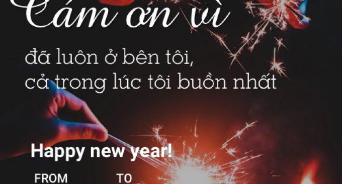 Zalo cung cấp bộ e-card chúc mừng năm mới 2018
