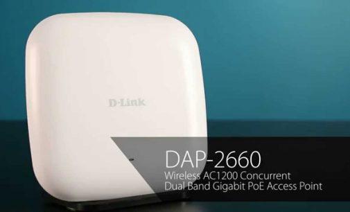 D-Link giới thiệu Access Point Wireless AC1200 Dual-Band PoE dành cho văn phòng nhỏ, văn phòng tại nhà