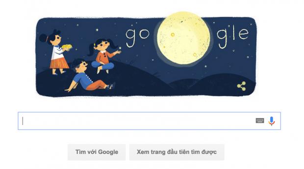 Google Doodle Tết Trung thu