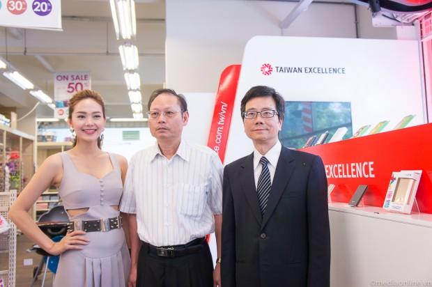 Không gian bán và giới thiệu sản phẩm Taiwan Excellence