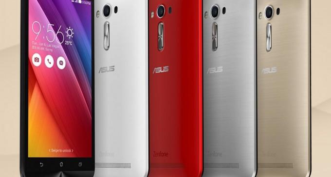 ASUS ZenFone 2 Laser phiên bản màn hình 5.5 inch, giá 4.990.000 đồng
