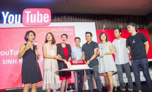 YouTube đón sinh nhật lần thứ nhất tại Việt Nam