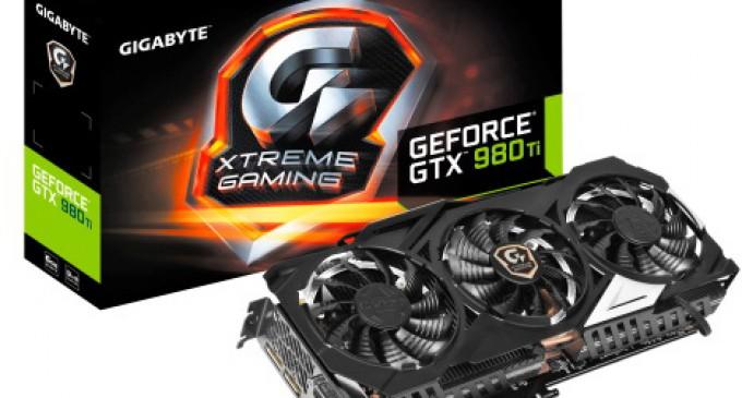 Gigabyte bổ sung thêm 5 card đồ họa cao cấp XTREME GAMING