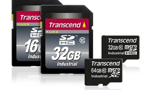 Transcend ra mắt thẻ nhớ microSD 64GB Industrial chịu được nhiệt độ cao